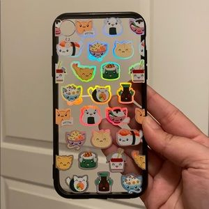 Holographic Sushi cat iPhone XR case